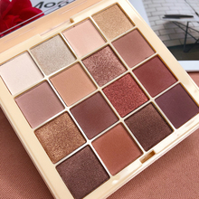 Brand 16 Color Eyeshadow Pallete Pigmented Smoky Eyeshadow Palette Matte Shimmer Glitter Cosmetic Makeup Eyeshadow Palette single eyeshadow pallete empty magnet palette shimmer matte glitter eyeshadow palette pigment smoky balm makeup palette cosmetic