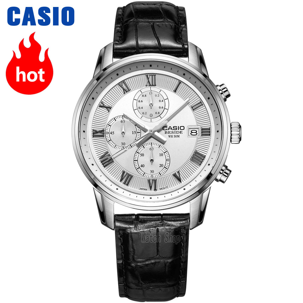 Casio watch Fashion business pointer waterproof quartz watch BEM-512D-1A BEM-511L-7A BEM-512L-7A casio sheen multi hand shn 3013d 7a