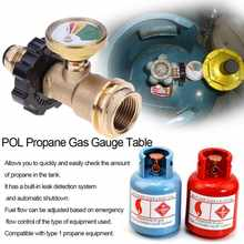 POL Propane Gas Gauge Table QCC1 BBQ Pressure Valve Propane Tank Pressure Test Instrument Tools