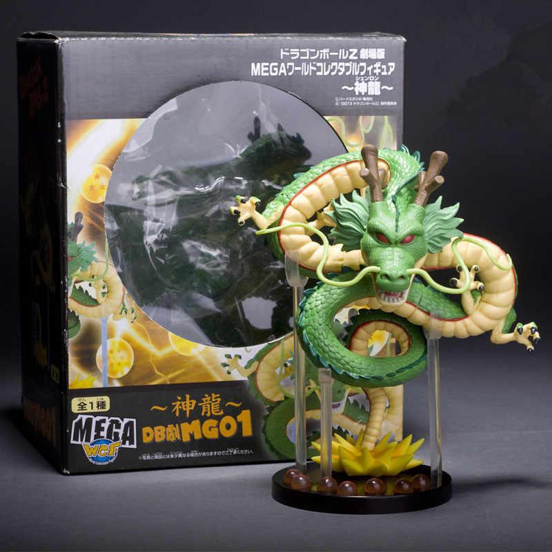 15 см Dragon Ball Z фигурки Shenron Dragon Ball Z фигурки Набор шары дракона + 7 шт. 3,5 см шары + полки figutas DBZ