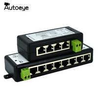 Autoeye Neue Ankunft 4 Ports 8 Ports POE Injektor POE Splitter für CCTV Netzwerk POE Kamera Power Over Ethernet IEEE802.3af