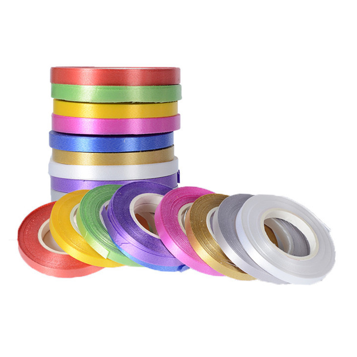 1    10pcslot 5mm10M Ribbon Wedding Decoration Birthday Party Supplie Diy Make Bows Gift Flowers Tie Bouquet Balloon Satin Ribbon