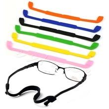 Silicone Eyeglasses Glasses font b Sunglasses b font Strap Sports Band Cord Holder For font b