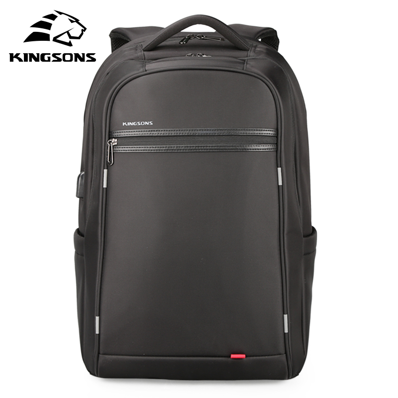 100% Wahr Kingsons Freizeit Männer Usb Lade Rucksack Teenager Große Kapazität Computer Tasche Für 17'inch Laptop Unisex Anti-diebstahl Buch Tasche