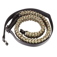 Outdoor Hunting Sports Multi Use Adjustable Paracord Rifle Strap With Swivels Slings