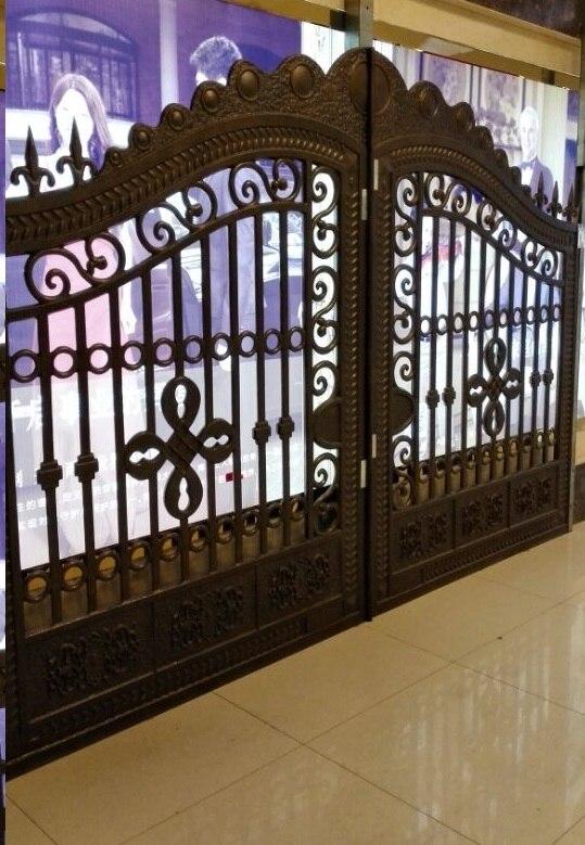 Aluminium Gate Classic design hench-a1