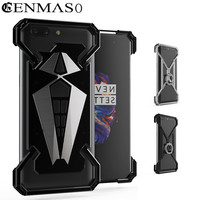Cenmaso For OnePlus 5 Case Aviation Aluminum Case For One Plus 5 Plus5 Metal Case Shockproof