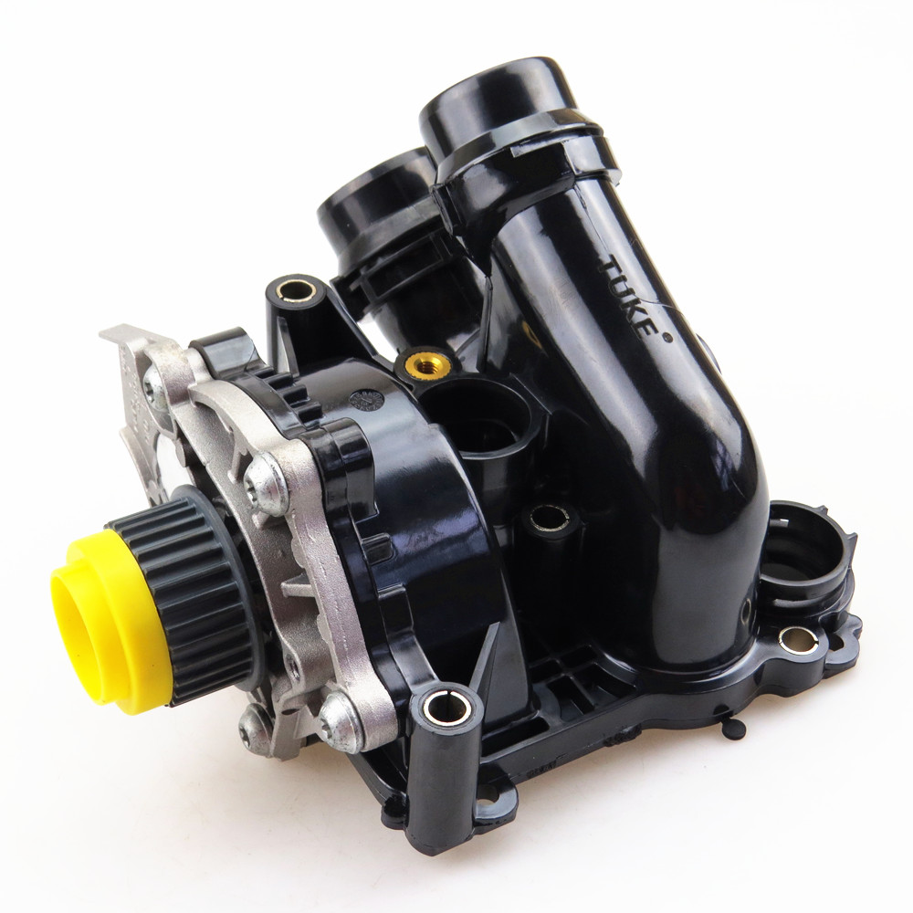 TUKE For 1.8T 2.0T Engine Auxiliary Cooling Water Pump Assembly For VW Passat B7 Tiguan Jetta Golf 6 A4 A3 A6 TT 06H 121 026 CD tuke engine cooling water pump assembly 06h 121 026 06h121026ab for 1 8t 2 0t vw jetta golf tiguan passat cc octavia seat leon