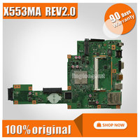 For ASUS F553M F553MA Motherboard Laptop Motherboard X553ma Rev2 0 Mainboard DDR3 Tested Well