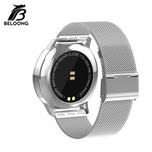 High Quality for BELOONG Q8 Q9 Q3 Q3 Plus Replacement Smartwatch Strap Stainless Steel Smart Watch Wrist Band Wearable Accessory(China)