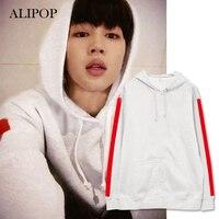 ALIPOP Kpop BTS Bangtan Boys FLÜGEL JIMIN Album Hoodie Mit Hut Hoodies Kleidung Pullover Gedruckt Langarm Sweatshirts WY430