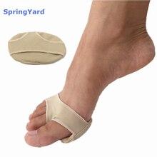 SpringYard Gel+Fabric Metatarsal Pads Forefoot Pad Corn Callus Cushion Soft Comfortable Foot Care Insoles Men Women