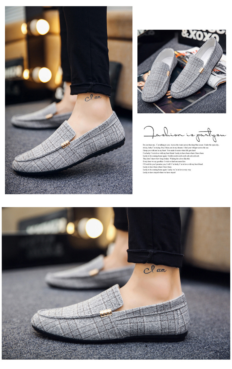 HTB1QLLeX2fsK1RjSszgq6yXzpXa3 Men Casual Shoes Spring Summer Men Loafers New Slip On Light Canvas Youth Men Shoes Breathable Fashion Flat Footwear