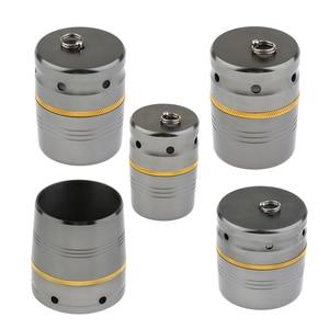 Image 1 - 1 шт., легкие стильные торцевые колпачки для удочки из алюминиевого сплава, чехлы для прикладок рыболовных катушек, алюминиевая крышка для доступа к удочке