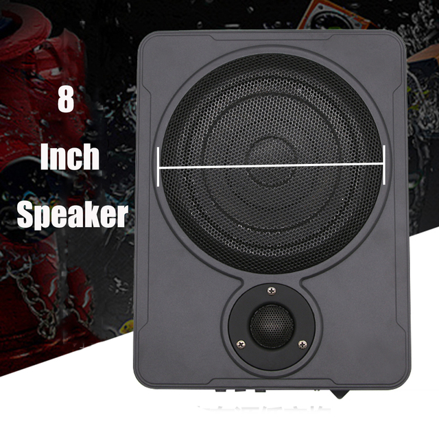 8 Inch bluetooth Car Home Subwoofer Under Seat Sub 600W Stereo Subwoofer Car  Audio Speaker Music System Sound Woofer 1