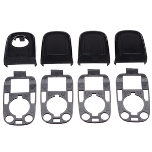 Image 3 - 8pcs Left and Right Door Handle End Cap With Seal Handle Cap Kit For Peugeot 307 For Citroen C2 C3