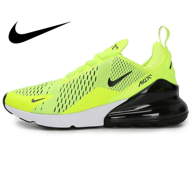 06c346982ae5 Original NIKE AIR MAX 270 Men s Running Shoes Sneakers for Men 2018 New  Arrival Fluorescent Green Sport Shoes High Quality