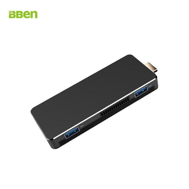 Bben MN10 Mini PC Windows 10 Intel Celeron Apollo Lake N3350 1.1-2.4GHz 3GB RAM 64G ROM USB3.0 WiFi BT4.0 Mini Computer PC