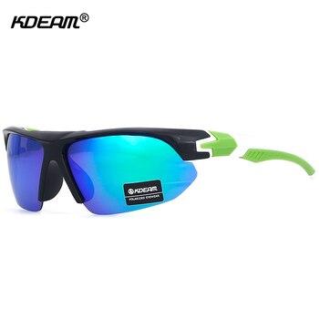 Polarizadas Medio Enmarcado Gafas Libre De Kdeam Para Sol Aire Al W9HYIED2