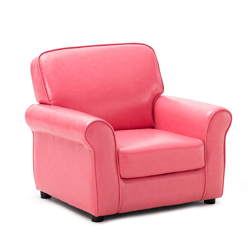 Modern pu leather kids sofa chair armchair for children for Small chair for kid
