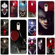 The Clown Horror IT Cover Soft Silicone TPU Phone Case For xiaomi 4 5 6 6X 8 miX2S for redmi4A 4X 5 5a 5Plus note4 4X 5(China)