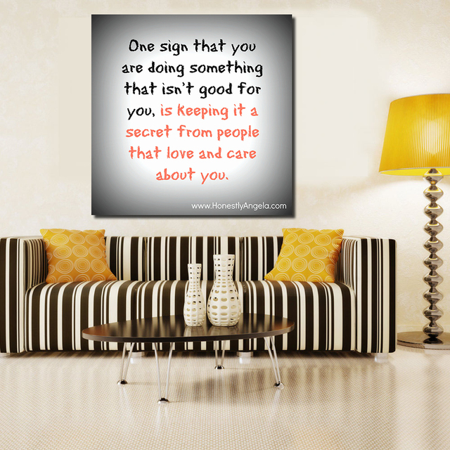 QCART Funny Quotes About LifeS Little Frustrations Canvas Wall Art Painting  Wall Painting Picture Modern No Frame Part 92