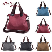 HB High Quality Women Canvas durable Casual Totes Vintage Female Hobos Single Shoulder Bag