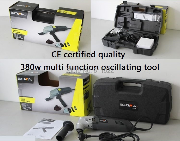 BAT tools with 380w and 2.8degree with 37pcs kit freely at good price and fast delivery to anywhere with one set blade freely