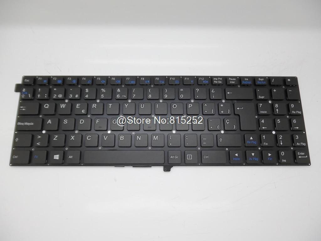 Keyboard For CLEVO W550EU MP 12C96E0 430W MP 12C96CH 430W MP 12C96GB 430W MP 12C93NI 430W