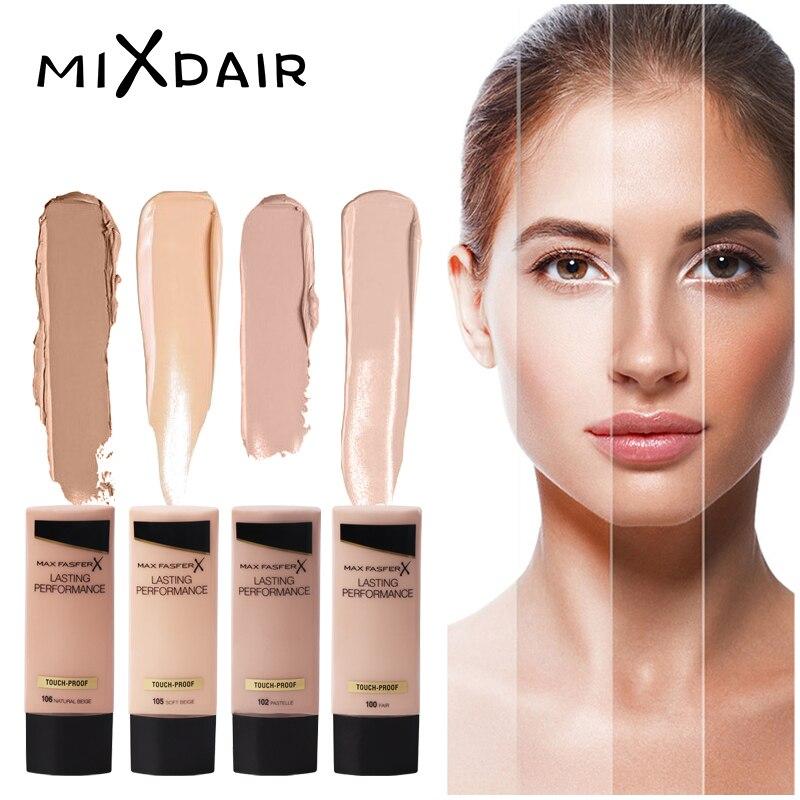 MAXSFASFER baza pod makijaż krem bb płynny podkład fundacja korektor nawilżający wodoodporny wybielanie rozjaśnić kosmetyki do twarzy 1