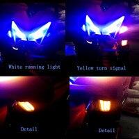 Modified motorcycle parts turn light LED turnlamp turn signal yellow winker light for YAMAHA NVX NVX155 125 AEROX155 L155 GDR155