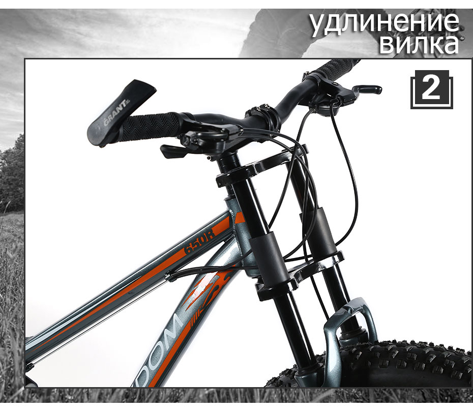 HTB1QLPEemzqK1RjSZPcq6zTepXaz Love Freedom High Quality Bicycle 21/24 Speed Mountain Bike 26 Inch 4.0 Fat Tire Snow Bike Double disc Shock Absorbing Bicycle
