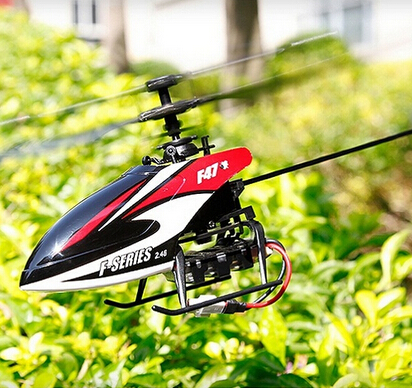 Best Toy NEW MJX F47 2.4G 4ch radio control Single propeller RC Helicopter GYRO a key sw ...