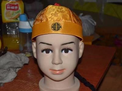 CAMMITEVER Kinesisk mode kejsare Cap Performance Kinesiska dräkter - Semester och fester - Foto 2