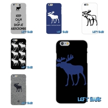 For HTC One M7 M8 A9 M9 E9 Plus Desire 630 530 626 628 816 820 Abercrombie And Fitch logo Silicon Soft Phone Case Cover(China)
