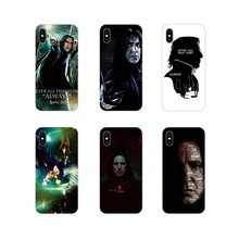 Accessories Phone Cases Covers For Motorola Moto X4 E4 E5 G5 G5S G6 Z Z2 Z3 G3 G2 C Play Plus Severus Snape Harry Potter Always(China)