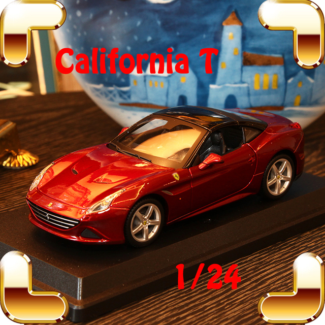 Christmas Sports Car.Christmas Gift California T 1 24 Metal Model Sports Car Roadster Vehicle Static Model Scale Alloy Collection Toys Showcase Cars In Diecasts Toy