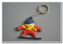 key holder as souvenirs, gift. Custom cartoon rubber labels, lower MOQ, high quality, 3D products
