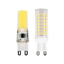No Flicker G9 COB LED Bead Bulb 2W 3W 4W 6W 8W 220V LED SMD Lampada For Spotlight Chandelier High Quality Replace Halogen Lamps(China)