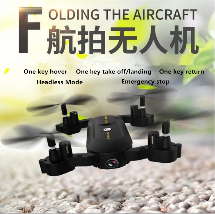 2017 new sky RC toy S-166 2 in 1 WIFI FPV Folding Mini Tumbler Selfie Drone With HD Camera And Full Protection Frame vs XS809W jjr c jjrc h43wh h43 selfie elfie wifi fpv with hd camera altitude hold headless mode foldable arm rc quadcopter drone h37 mini