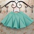 Девушки юбки пространство хлопок шить плиссированные юбки детей 3-6 лет бесплатная доставка туту 3 цвета по желанию