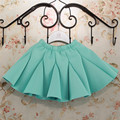 Girls skirts space cotton stitching pleated  skirt children 3-6 years old free shipping tutu 3 color optional
