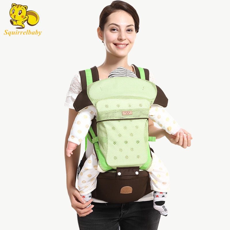 2018 Best Selling Cotton Kangaroo Baby Carrier Hipseat Front Baby Sling Mochila Portabebe Baby Canguru Hip Seat Portabebe chicco