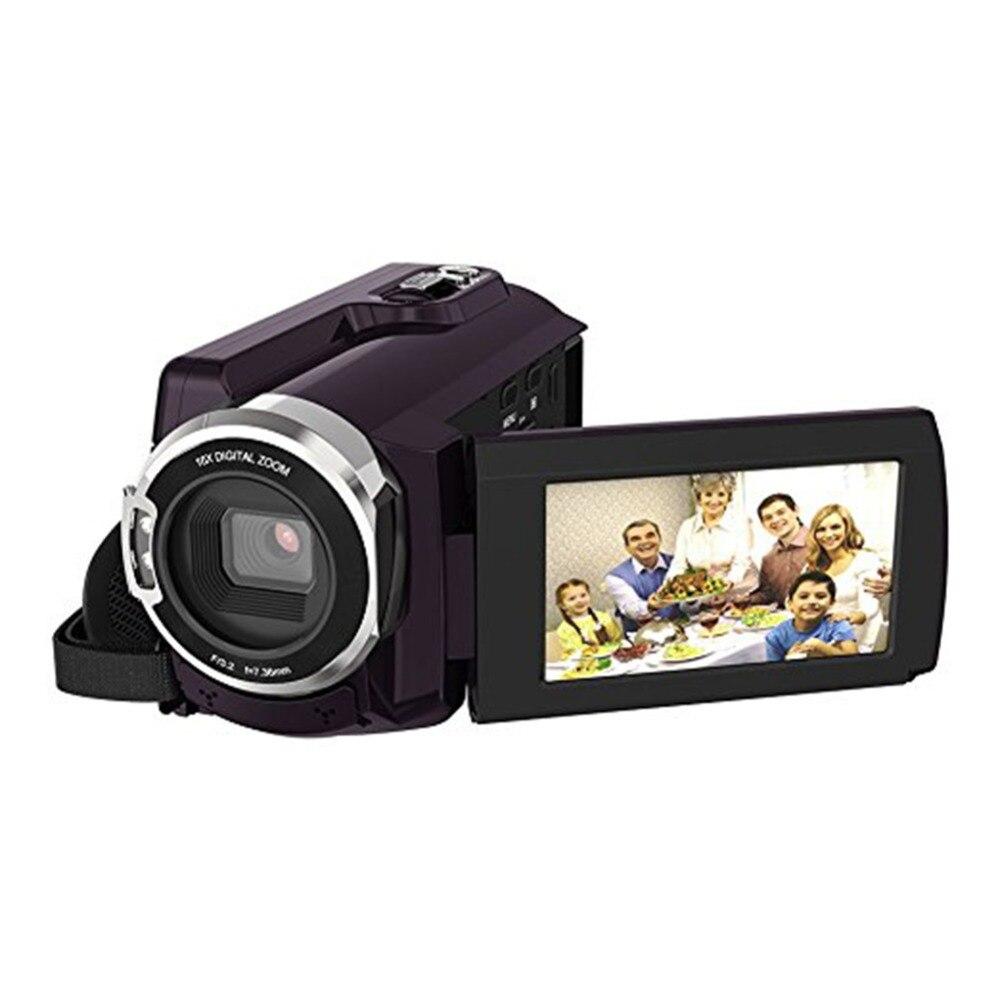 Caméscope 4 K caméscopes 48.0MP 60 FPS Ultra HD appareils photo numériques et enregistreur vidéo avec Vision nocturne Wifi/infrarouge