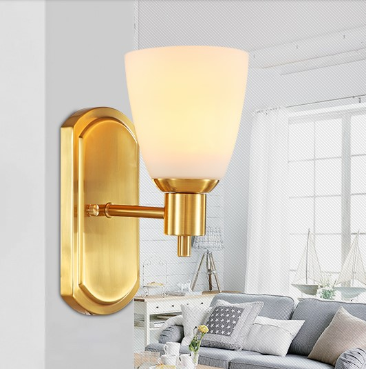 Wall Sconces Beside Tv : ?Wall Sconce American Country ? Golden Golden Vintage LED Wall Light Fixtures ? For For Home ...