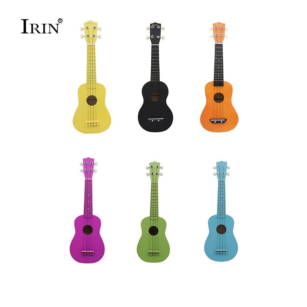 Soprano 6 Color Ukelele Wooden Ukulele 21 Inch Guitar 4 Strings Hawaii Acoustic Guitar Wood Fingerboard Instrument Free Shipping все цены