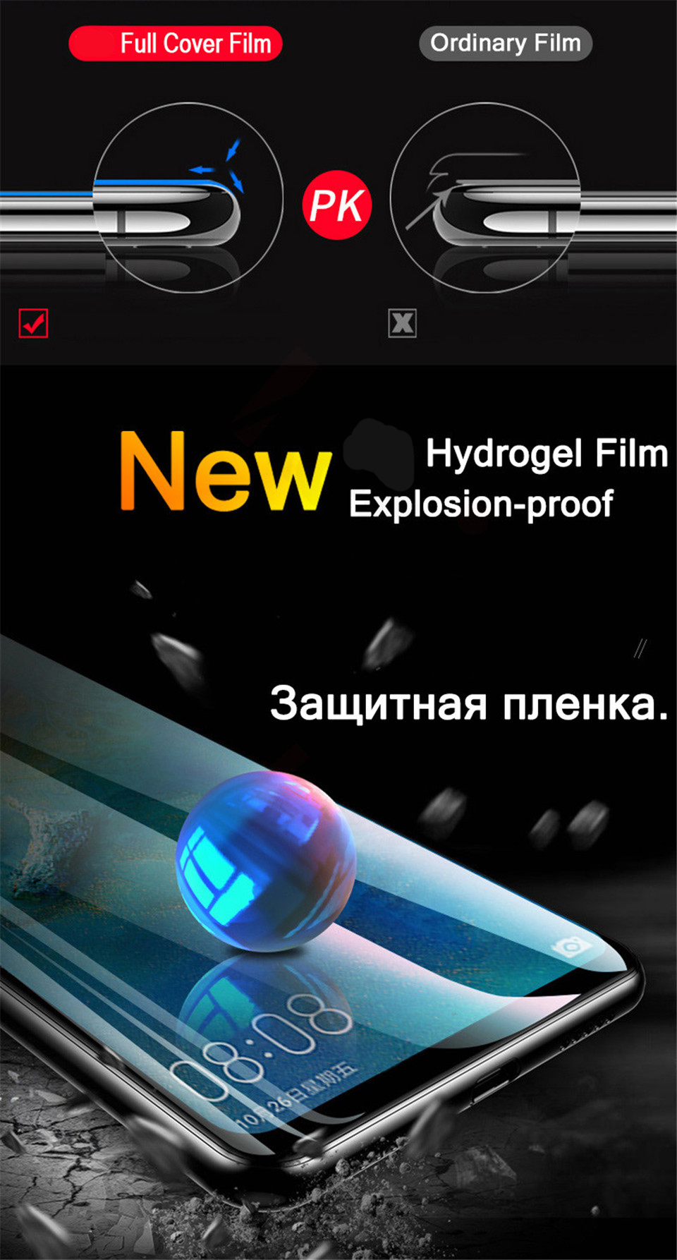 20D Screen Protector Hydrogel Film For Huawei P40 P20 P30 Lite Protective Film For Huawei Mate 20 Pro 10 Lite Film Not Glass HTB1QLRuV9zqK1RjSZPcq6zTepXaj