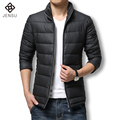 2016 Winter Coat Men Causal Mens Warm Coats Outerwear and Ultra Duck Down Jacket Men Brand Zipper Down Jackets Coats Plus Size