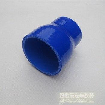 Gran oferta reductor recto de alto rendimiento manguera de silicona de 38-51 MM, conexión de tubería de Intercooler Turbo