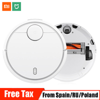 Global Version Xiaomi Mi Robot Vacuum Cleaner for Home Automatic Sweeping Smart Planned WIFI APP Control Charge Dust Cleaner